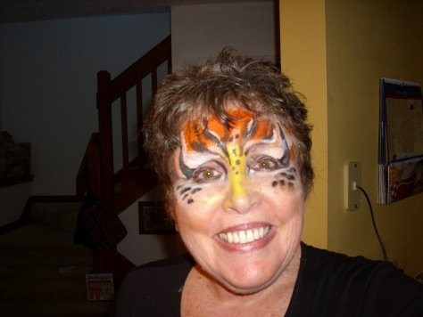 face painting in Orlando for adults!