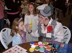 Miss Harriet facepainting for kids