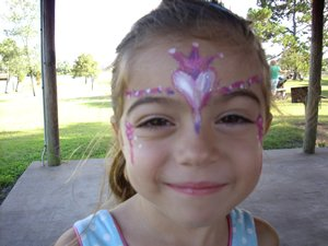 orlando princess facepainting